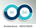 two business elements banner ... | Shutterstock .eps vector #400193605
