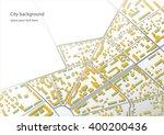imaginary city plan. urban...   Shutterstock .eps vector #400200436
