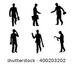 vector illustration of a six... | Shutterstock .eps vector #400203202