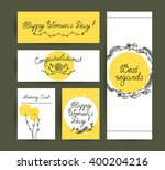 vector flat hand drawn holiday... | Shutterstock .eps vector #400204216