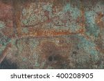 Worn Rusty Metal Texture.