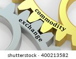 commodity exchange concept on... | Shutterstock . vector #400213582