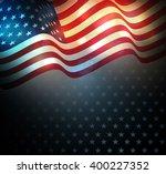 united states flag.  usa... | Shutterstock .eps vector #400227352