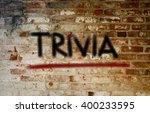 trivia concept | Shutterstock . vector #400233595