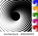 Abstract Background Set With...