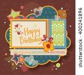 framework for invitation or... | Shutterstock .eps vector #400241896