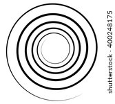 abstract spiral element....   Shutterstock .eps vector #400248175