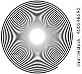 abstract spiral element.... | Shutterstock .eps vector #400248292