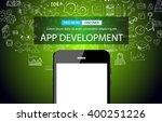 app development concept... | Shutterstock .eps vector #400251226