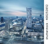 Panorama Of Modern Warsaw By...
