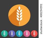 gluten free vector icon flat... | Shutterstock .eps vector #400254592