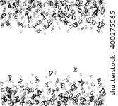 vector illustration of alphabet ... | Shutterstock .eps vector #400275565
