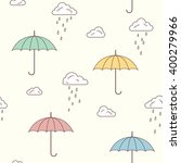 seamless pattern with cute... | Shutterstock .eps vector #400279966