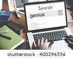 genius smart expert brilliant...   Shutterstock . vector #400296556