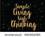 philosophical inspirational... | Shutterstock .eps vector #400306585