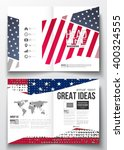 set of business templates for... | Shutterstock .eps vector #400324555