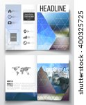 set of business templates for... | Shutterstock .eps vector #400325725