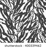 Kelp Seaweed Black With White...