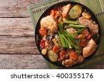 korean food jjimdak  stewed... | Shutterstock . vector #400355176