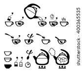 vector flat icons isolated on... | Shutterstock .eps vector #400365535