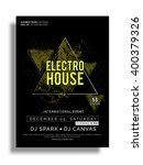 electro house  musical party... | Shutterstock .eps vector #400379326