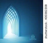 ramadan kareem background... | Shutterstock .eps vector #400382308