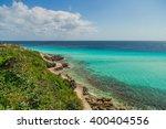 garrafon natural reef park ... | Shutterstock . vector #400404556