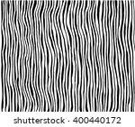 animal skin stripes  abstract... | Shutterstock .eps vector #400440172