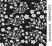 seamless floral pattern | Shutterstock .eps vector #400441072