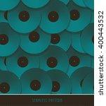 A Vinyl Records Geometric...