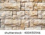 decorative beige stone random... | Shutterstock . vector #400450546