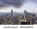 skyline manhattan  nyc. soft... | Shutterstock . vector #400460542