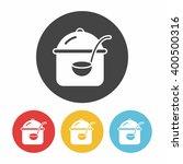 pot icon | Shutterstock .eps vector #400500316