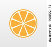 Yellow Orange Fruit Icon...