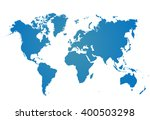 Similar World Map Isolated On...