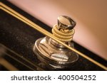 guitar tuning peg with string   Shutterstock . vector #400504252