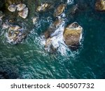 Aerial View Of Stones Rock In...