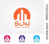 real estate logo set   creative ... | Shutterstock .eps vector #400510312