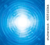 abstract digitally technology... | Shutterstock . vector #400510366
