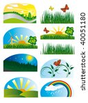 collection of elements of... | Shutterstock .eps vector #40051180