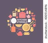 vector collection of kitchen...   Shutterstock .eps vector #400514896