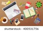 colorful flat illustration of a ... | Shutterstock .eps vector #400531756