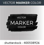 vector dark stripes drawn with... | Shutterstock .eps vector #400538926