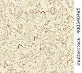 kindergarten seamless art... | Shutterstock .eps vector #400540465