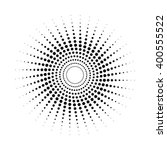 design spiral dots backdrop.... | Shutterstock .eps vector #400555522