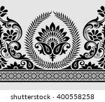 paisley indian motif | Shutterstock .eps vector #400558258
