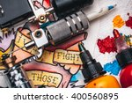 replacement supplies for tattoo ... | Shutterstock . vector #400560895