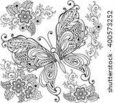 hand drawn  decorative...   Shutterstock .eps vector #400573252