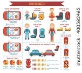 Vector Child Car Seats...