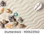 marine summer postcard.... | Shutterstock . vector #400623562